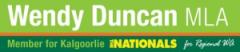 Wendy Duncan logo banner style